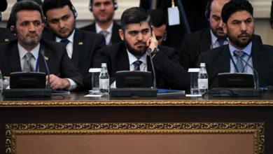 50856 وفد المعارضة السورية المشارك فى مؤتمر أستانة بكازاخستان