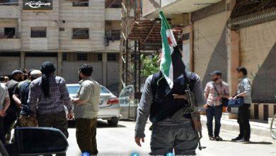 تبادل اسرى في جنوب دمشق