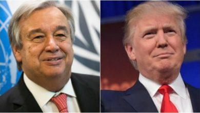 Trump Antonio Guterres 1