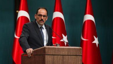 Turkish Presidency spokesperson Ibrahim Kalin