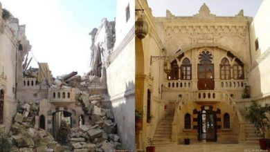 aleppo war before after 22