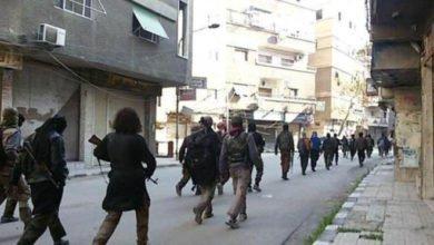 من تنظيم الدولة في حي اليرموك جنوب دمشق انترنت 660x392