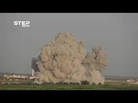 بقصفٍ روسي، مقتل مزارعين بسهل الغاب شمال حماة