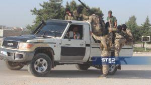 دفعة من مقاتلي اللواء 211 في الجيش الوطني 10
