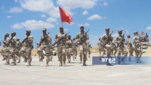 دفعة من مقاتلي اللواء 211 في الجيش الوطني 13