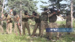 دفعة من مقاتلي اللواء 211 في الجيش الوطني 4