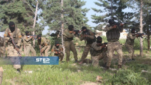 دفعة من مقاتلي اللواء 211 في الجيش الوطني 5