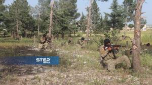 دفعة من مقاتلي اللواء 211 في الجيش الوطني 7