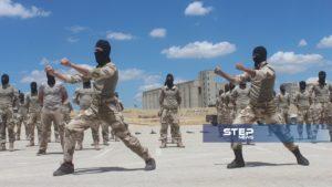 دفعة من مقاتلي اللواء 211 في الجيش الوطني 8