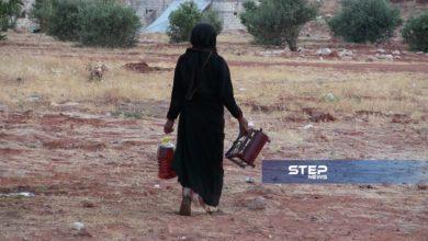 """حملة تطوعية غرب حلب تحت عنوان """"رفع الحرج عن نازحي ريف حماة"""" لتوزيع مواقد كاز على النازحين"""