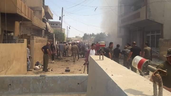 """مفخخة تضرب مبنى استخبارات """"قسد"""" في القامشلي وتقتل قيادي بارز"""