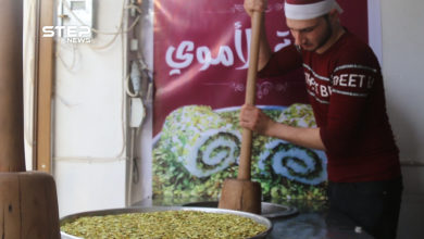 البوظة الشامية العربية الدق.. الأولى من نوعها في مدينة الباب شرقي حلب