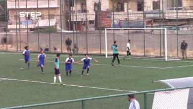 مباراة ودية بين نادي الكرامة ونادي دمشق في عفرين وفاءً لمسيرة عبد الباسط الساروت الرياضية