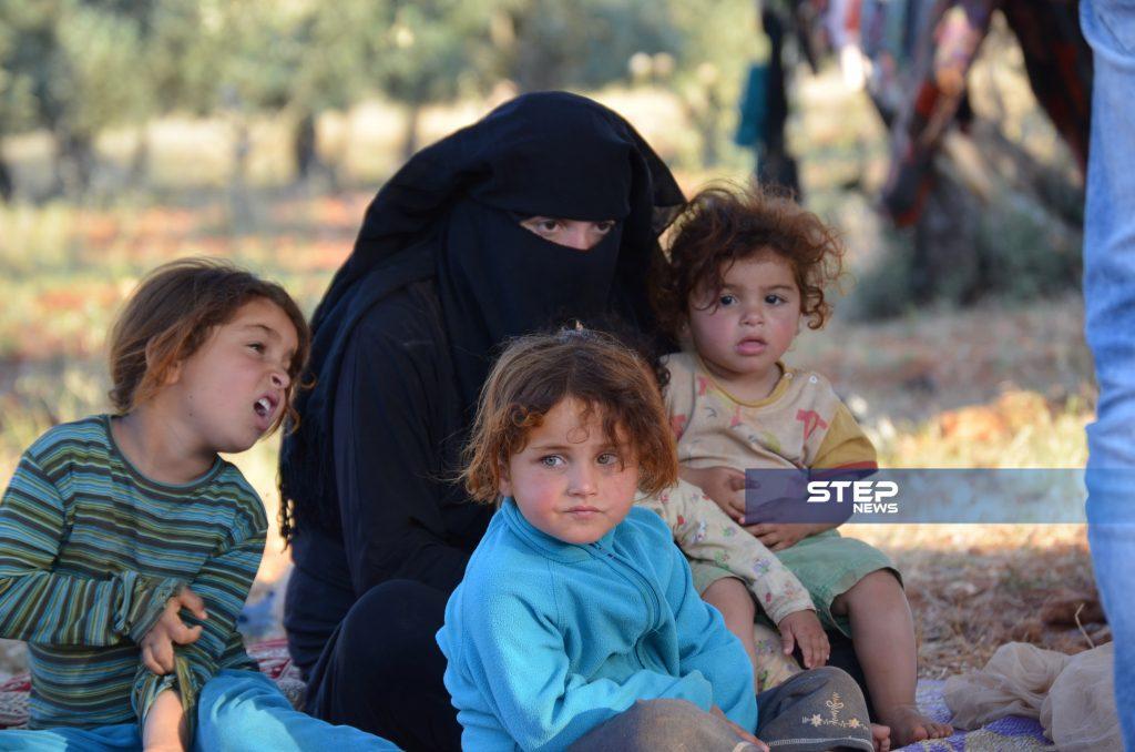 موجة نزوح كبيرة جنوبي حلب تنذر بكارثة إنسانية