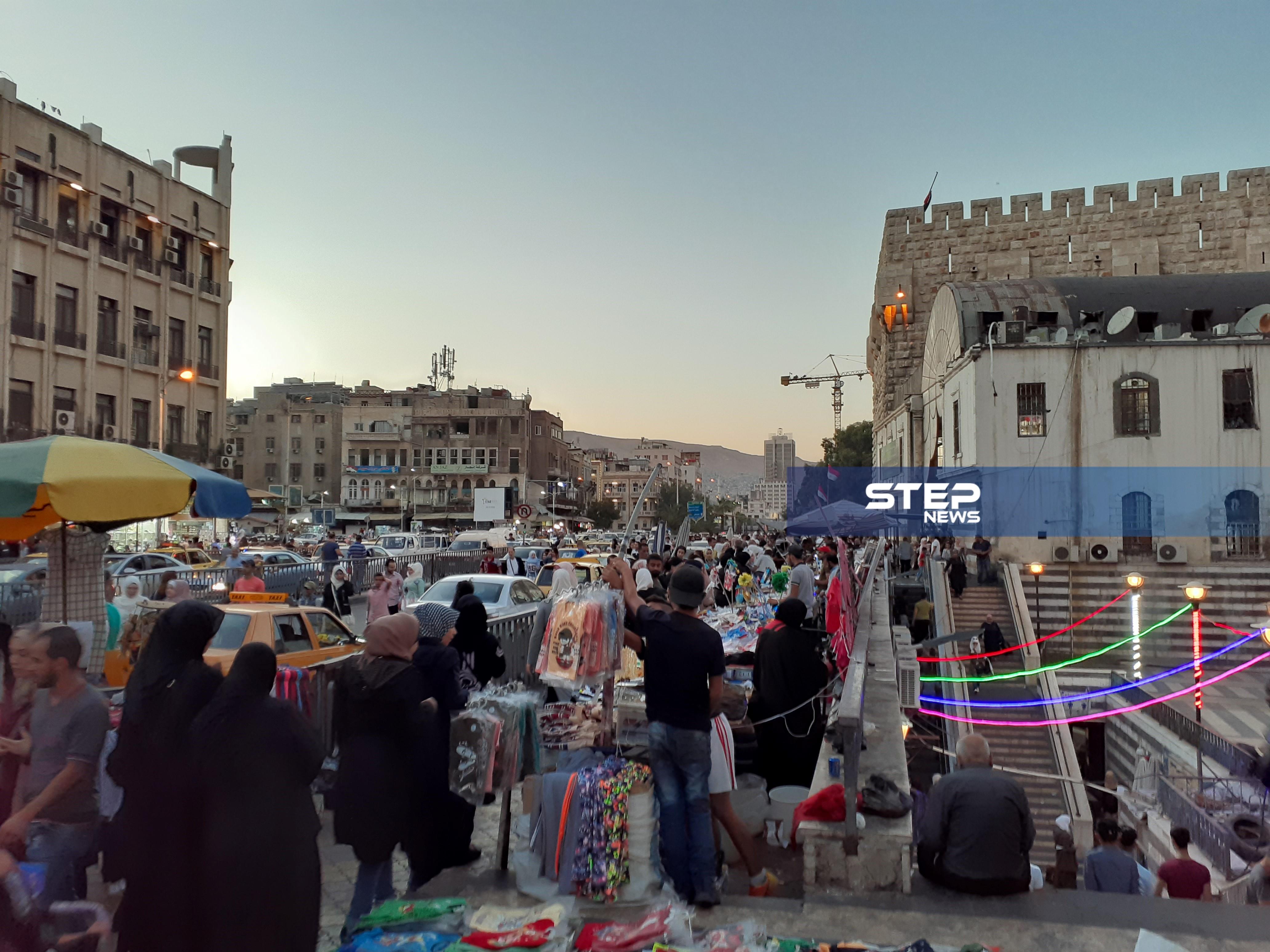 جولة لمراسل ستيب تظهر تحضيرات عيد الأضحى داخل أسواق العاصمة دمشق