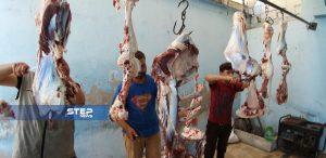 شاهد بالصور: جانب من أضاحي العيد بريف حلب الغربي