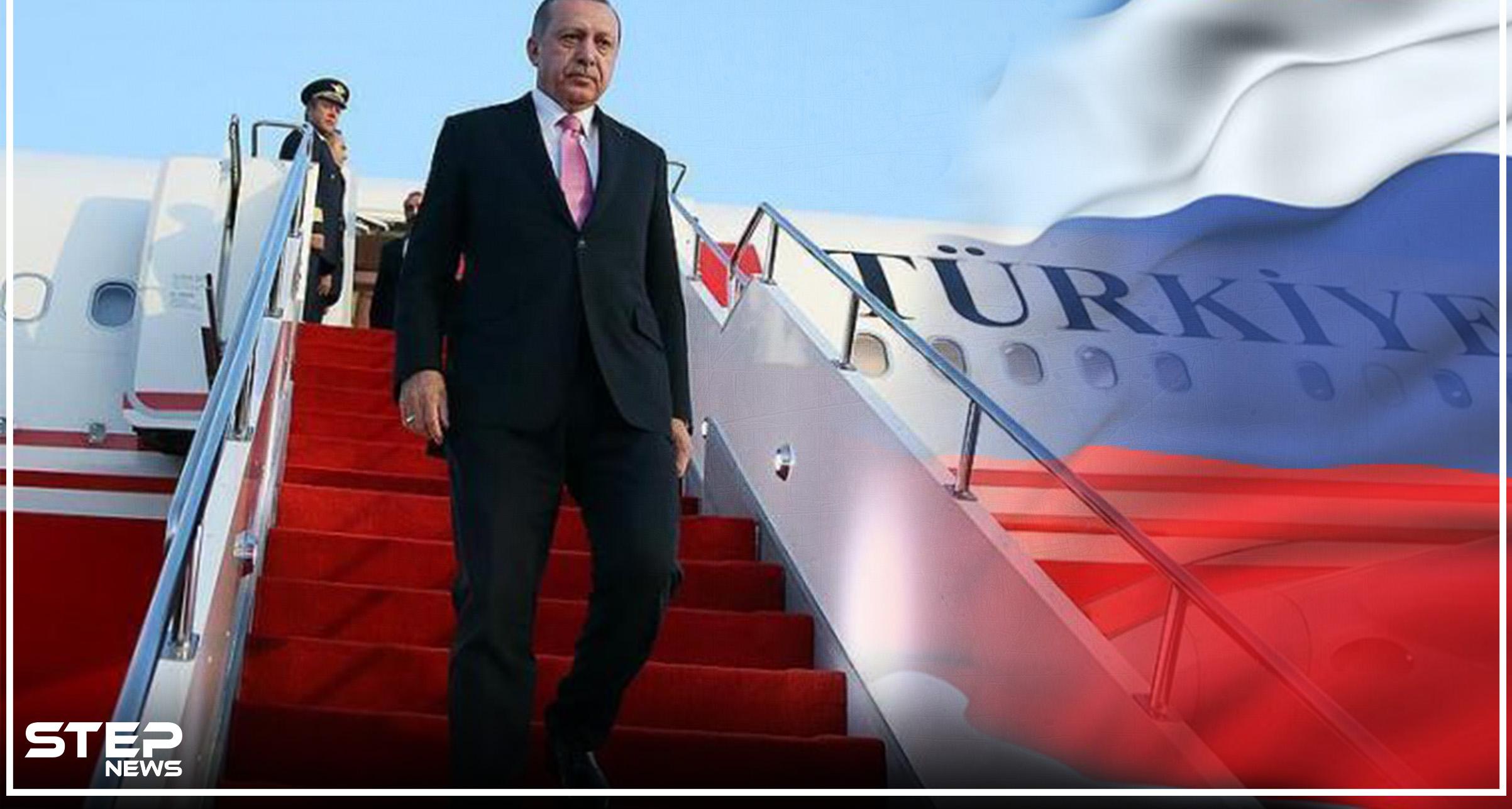 في زيارة مفاجئة، أردوغان يصل موسكو للقاء نظيره الروسي بوتين وإدلب على رأس المباحثات
