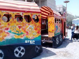 عدسة ستيب نيوز ترصد مظاهر العيد في بلدة جيرود بالقلمون الشرقي في ريف دمشق