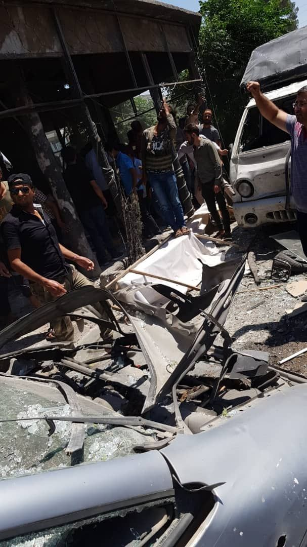 انفجار دراجة نارية مفخخة بمدينة إعزاز شمال حلب ووقوع قتلى وجرحى