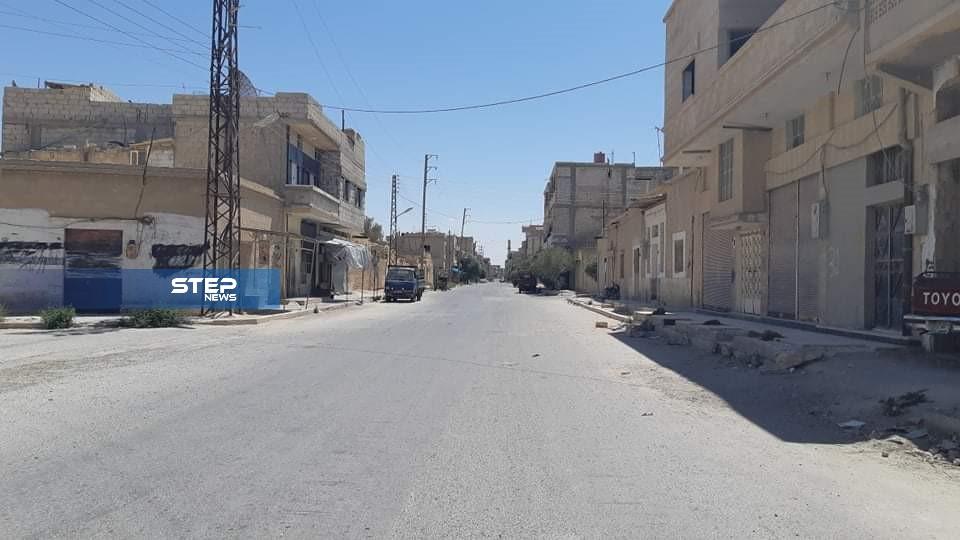 جولة لعدسة ستيب ترصد مدينة القريتين شرق حمص الخاضعة لسيطرة القوات الروسية
