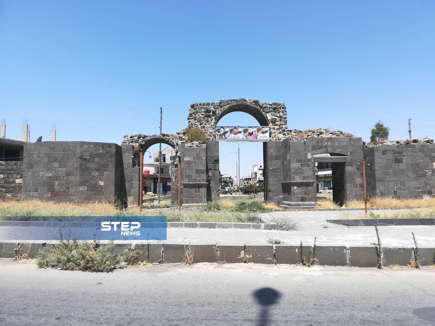 عدسة ستيب نيوز ترصد مدينة شهبا الأثرية في محافظة السويداء