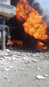 انفجار جنديرس