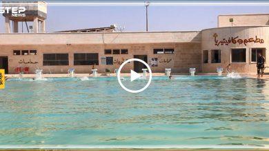 Swimming championship in idleb 205092019