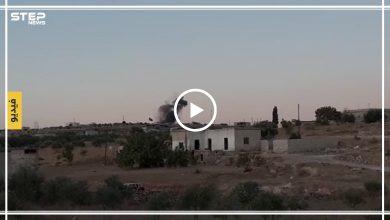 شاهد بالفيديو | قصف مدفعي لقوات الأسد يستهدف نقطة المراقبة التركية بريف إدلب الجنوبي