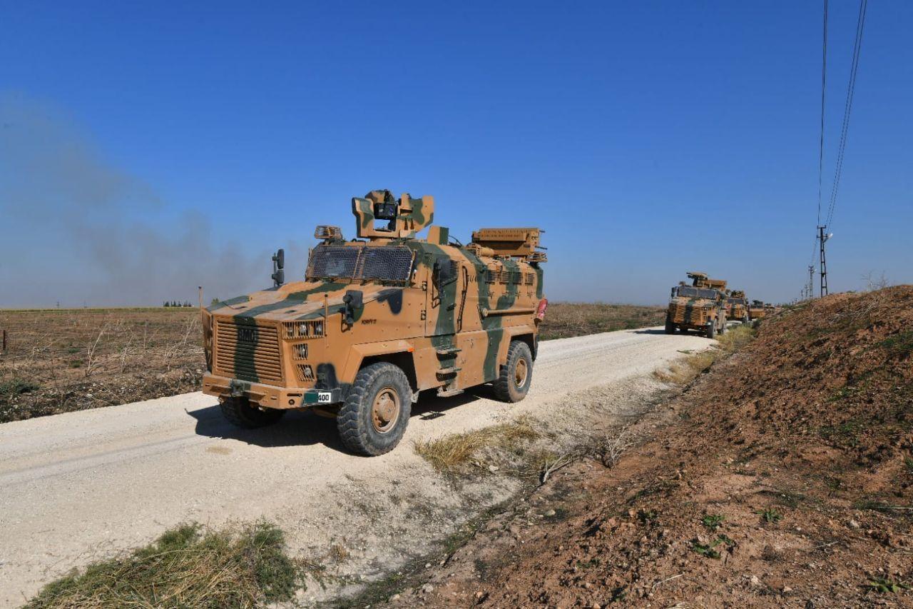 القوات الروسية التركية المشتركة تسيّر الدورية الرابعة شرق نهر الفرات