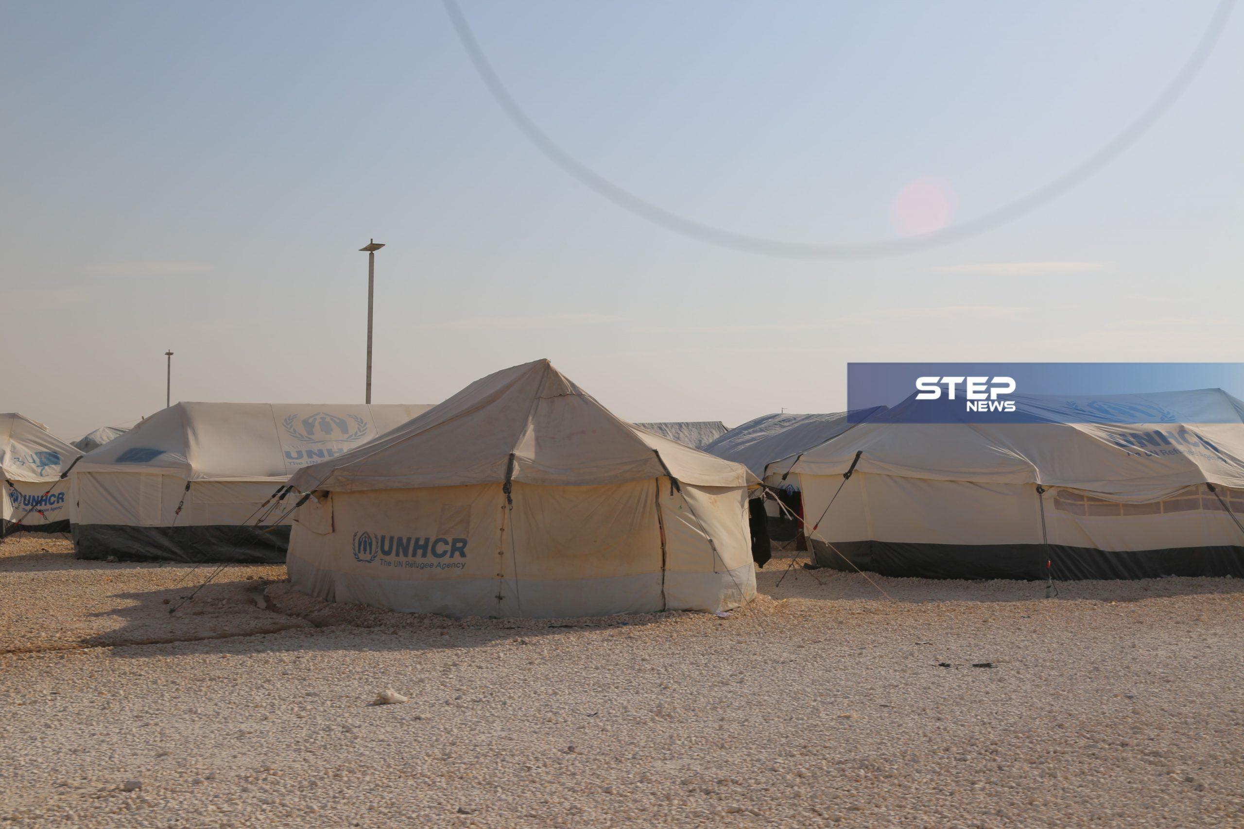 جولة لعدسة ستيب في مخيم الهول بريف الحسكة