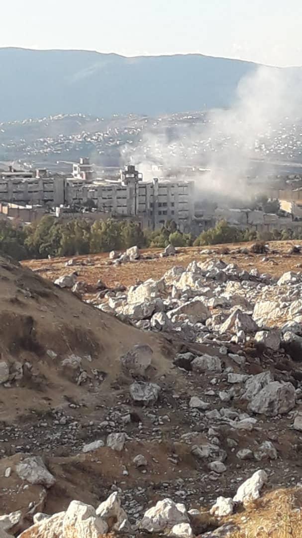 أكثر من 10 غارات من الطيران الروسي على سجن إدلب المركزي.. والحصيلة!