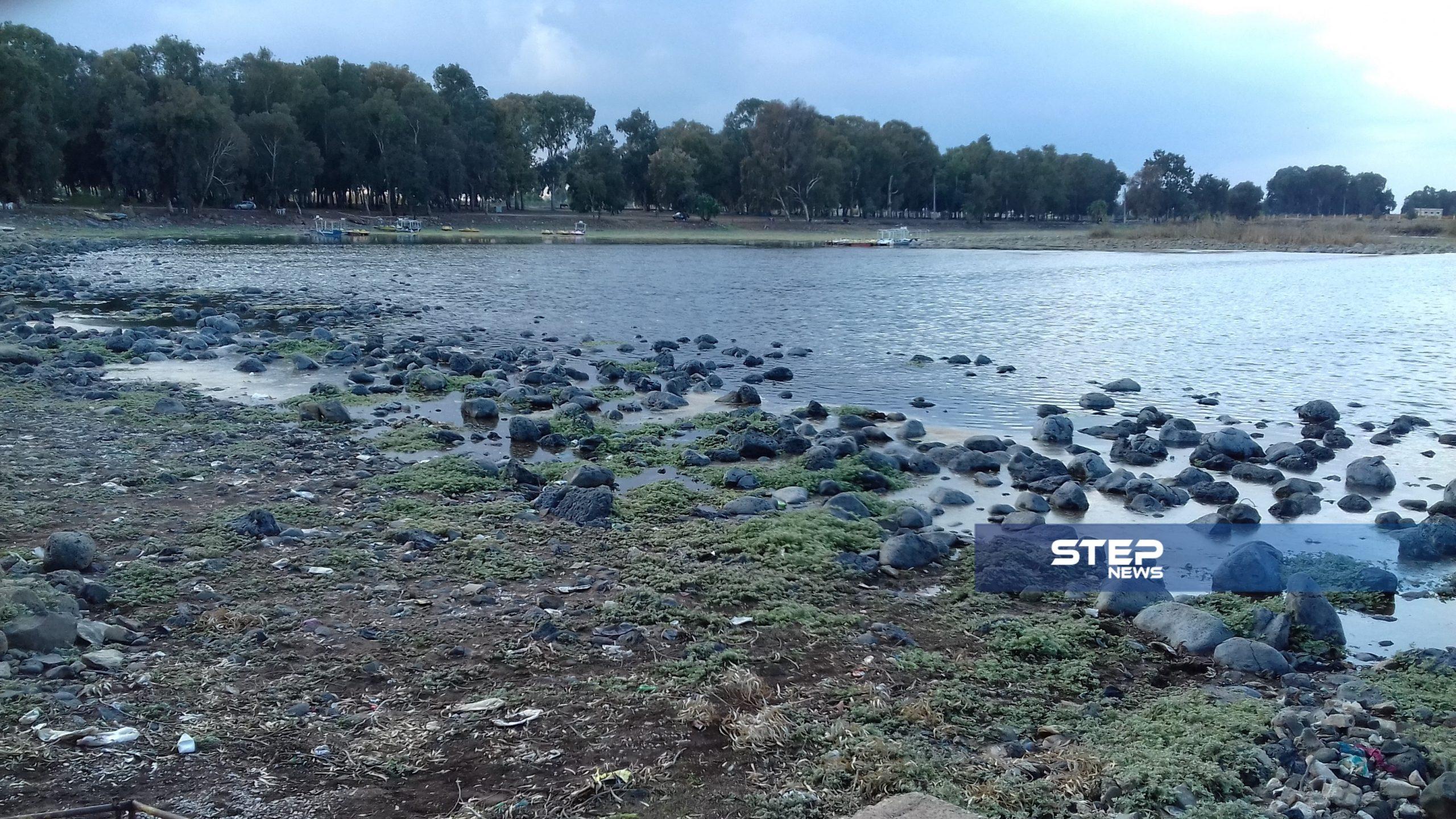 بحيرة المزيريب في درعا معلمًا سياحيًا هامًا ومصدرًا للرزق