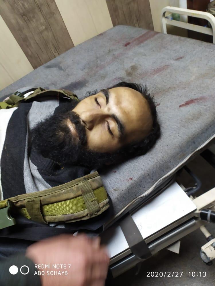 """بالفيديو    من ضابطٍ مُنشق لقيادي بـ""""تحرير الشام"""".. من هو """"أبو عبيدة كنصفرة"""" الذي قُتل بـ""""سراقب"""""""