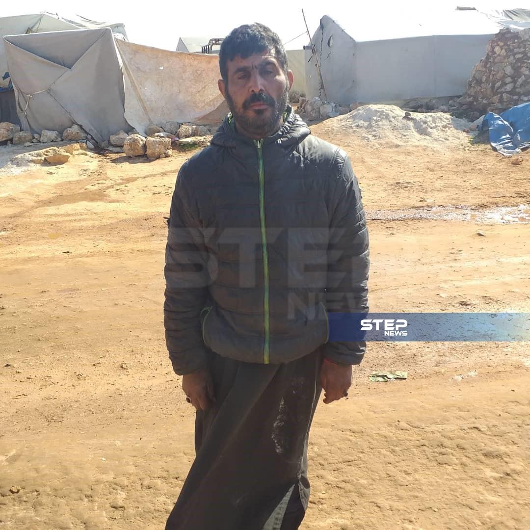 تحت ستار الخيمة المهترئة وعلى فراش المرض.. أكبر أحلامه بات طعامًا مطبوخًا على الغاز!