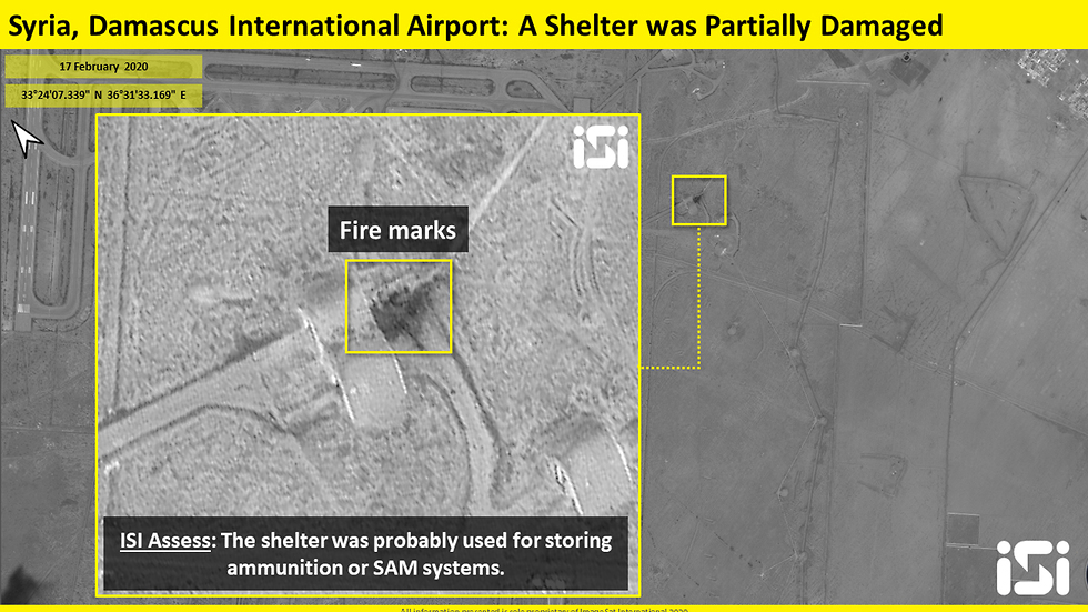 إسرائيل تبيّن حجم الدمار بمطار دمشق.. وهذه طريقة نقل السلاح الإيراني إلى سوريا بالتفصيل.. (صور)