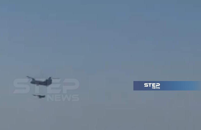 خاص|| لهذا السبب عمدت طائرات التحالف الدولي إلقاء مظلات تحمل إمدادات لقواتها بدير الزور (صور)