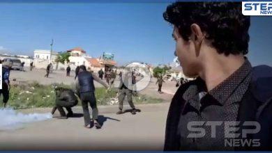 شاهد || قتلى ومُصابين بصدام مُسلّح بين المعتصمين على طريق M4 وجنود أتراك شرق إدلب