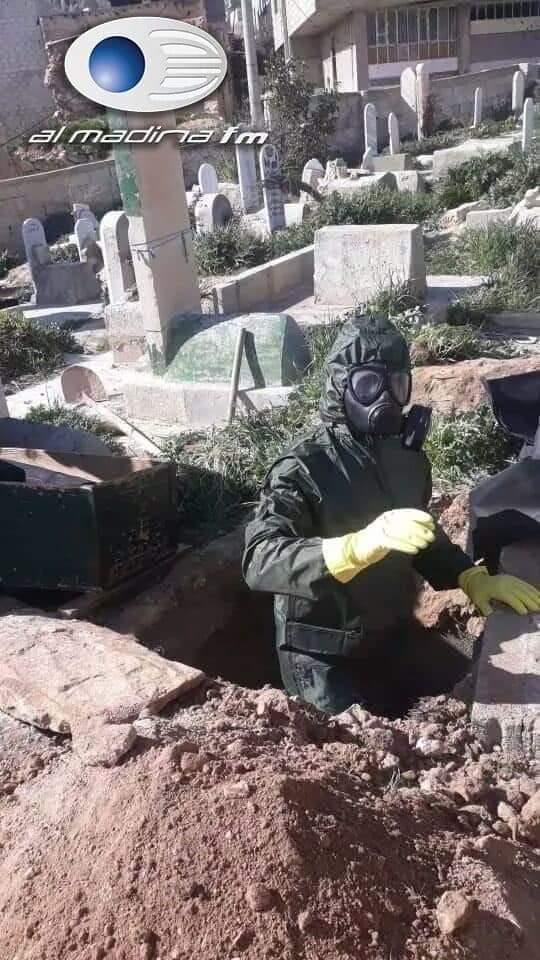 شاهد|| ضحايا كورونا بسوريا لا يوجد من يدفنهم.. والنظام السوري يتجه لعزل مناطق جديدة