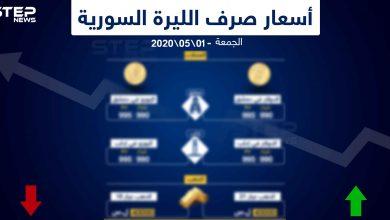 أسعار الذهب والعملات في سوريا اليوم 1-5-2020