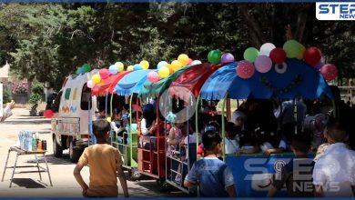 عدسة ستيب ترصد أجواء عيد الفطر في مدينة إدلب و فرحة الأطفال النازحين