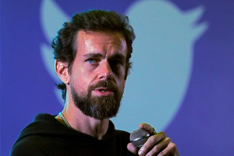 """المدير التنفيذي لشركة """"تويتر""""، جاك دورسي"""