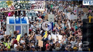 """أمريكا على أعتاب """"ثورة"""".. وترامب يصف المتظاهرين بـ """"البلطجية"""" ويهدد بقتلهم (فيديو)"""