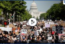 """زوجة قاتل """"جورج فلويد"""" تطلب الطلاق وتوضح أسبابها.. والشرطة الأمريكية تدهس متظاهري مينابوليس (فيديو)"""
