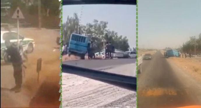 بالفيديو|| مسلحون يتحدون خامنئي ويحررون سجناء في وضح النهار بـ إيران