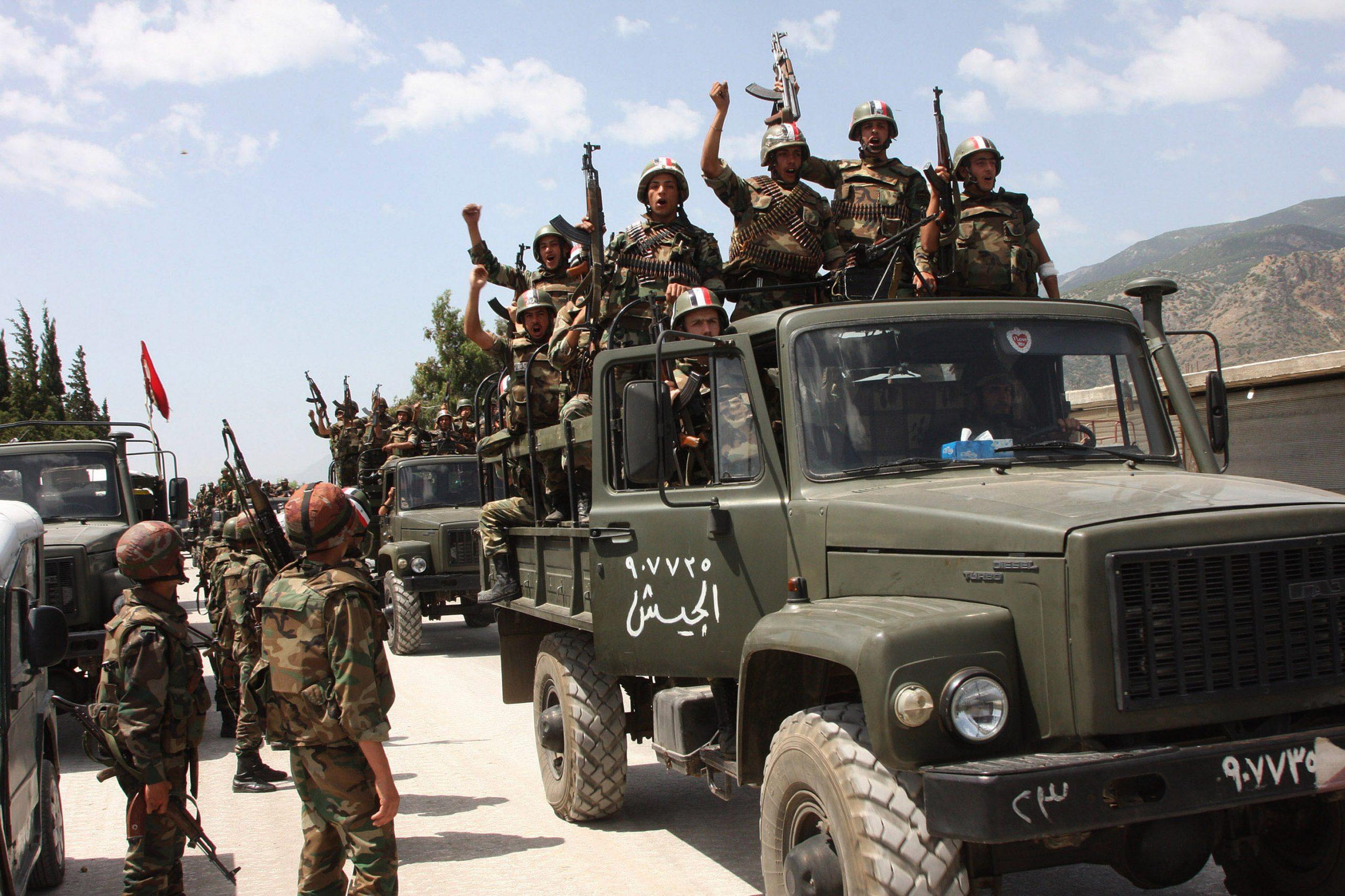 خاص   الفرقة الرابعة تكثف من عمليات التجنيد غربي دمشق.. وتحصل لجيوبها ملايين الليرات السورية