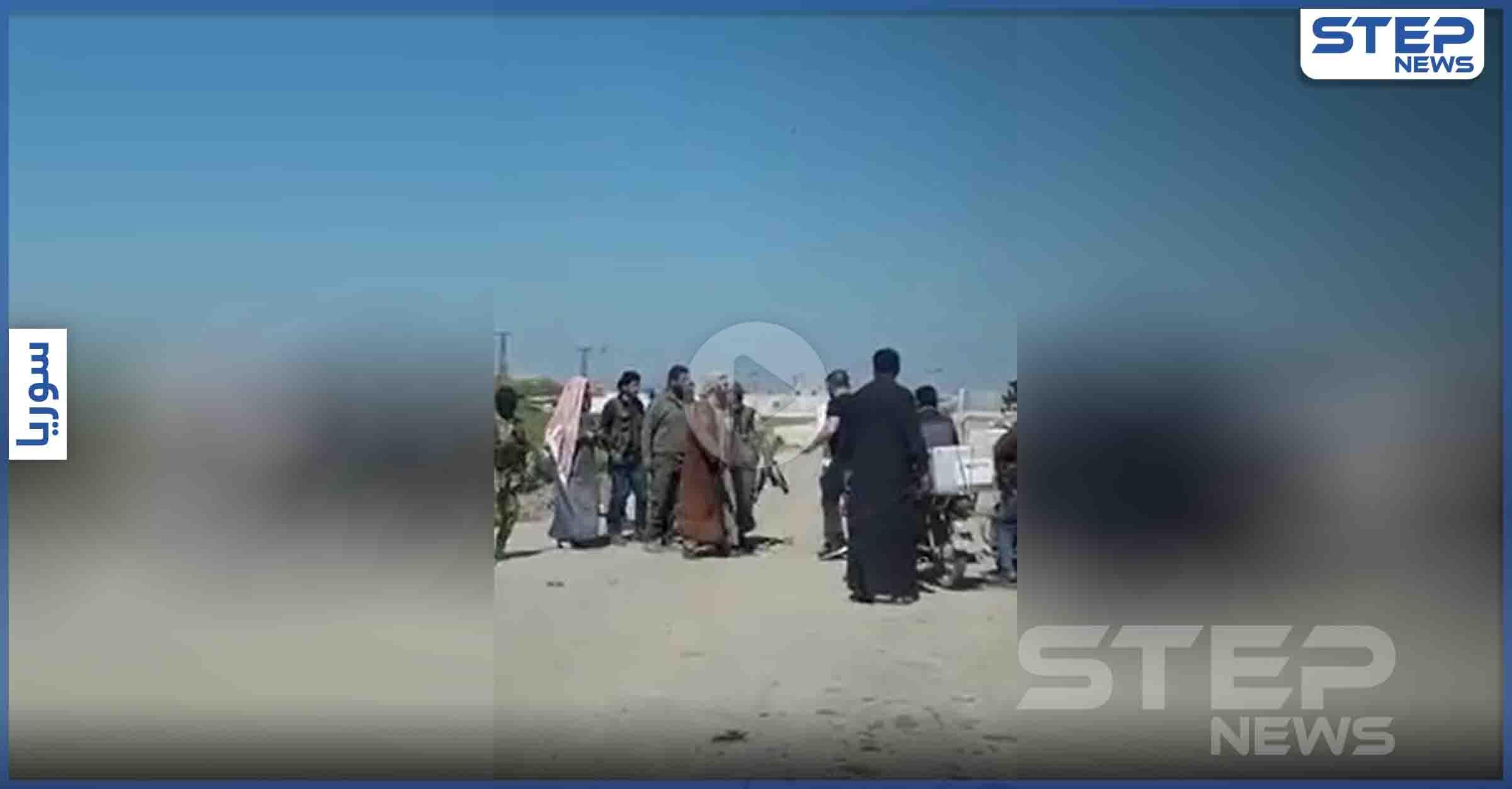 بالفيديو   ضابط من الجيش التركي يعتدي على مدني سوري شمال الرقة