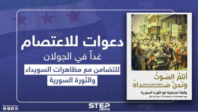 دعوات للاعتصام في الجولان المحتل تضامناً مع السويداء والثورة السورية