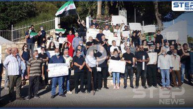 بالفيديو || مظاهرات في الجولان المحتل تضامنًا مع المدن السورية الثائرة