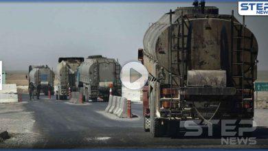 """قبل أيام من """"قيصر"""".. قسد تدعم النظام السوري بمئات شاحنات النفط الخام وتبرر ذلك (فيديو)"""