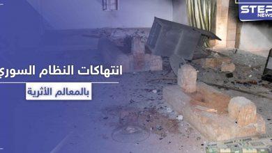 """مسؤول بالنظام السوري يتباهى بنبش الشبيحة لقبر """"عمر بن عبد العزيز"""" والأضرحة الدينية (صور)"""